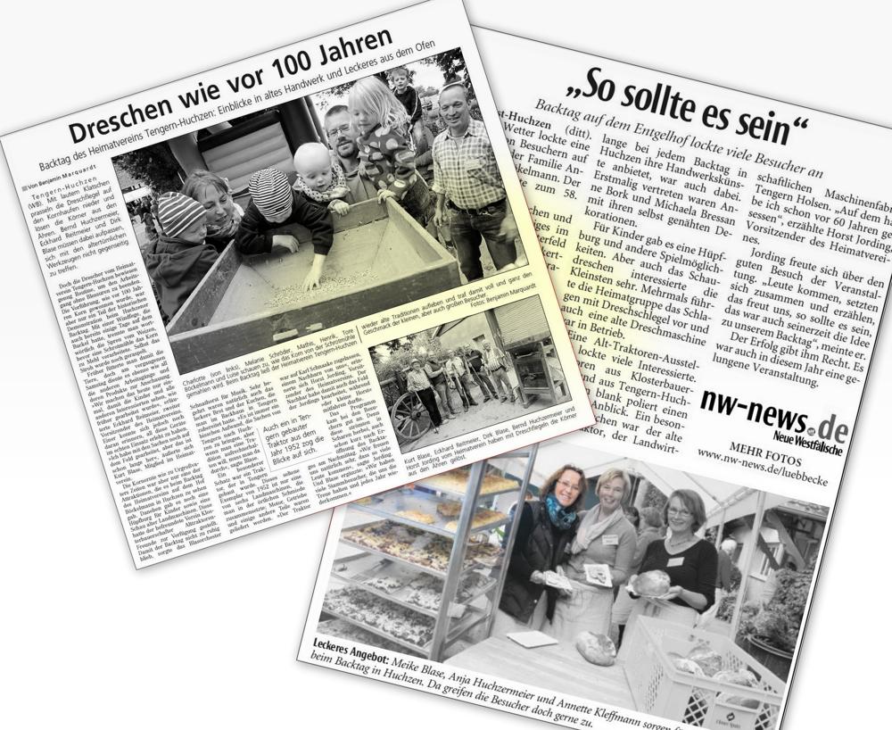58. Backtag: Deschen wie zu Großväter Zeit …