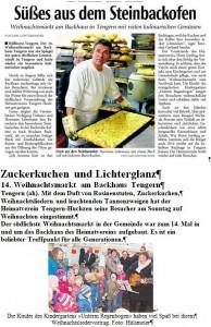 2013_12_17_Weihnachtsbacktag Presseausschnitte